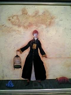 宝永たかこ展開催 今日から来週の水曜日まで、池袋の東武百貨店六階画廊で個展を開催中。魔法...